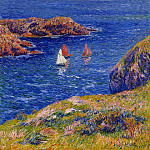 Henry Moret - Quessant Calm Day 1905