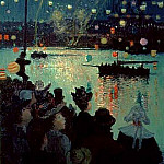Henry Moret - Bastille Day at Lorient