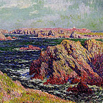 Henry Moret - The Cliffs of Belle Ile