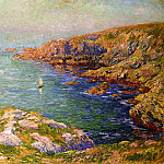 Henry Moret - Calm Coast of Brittany 1906