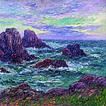 Henry Moret - Evening at Ouessant