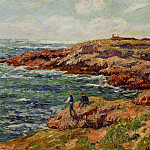 Henry Moret - Fishermen on the Breton Coast 1909