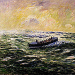 Henry Moret - Lifeboat at Audierne