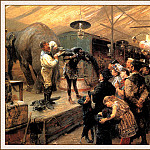 bs-ahp- Paul Friederich Meyerheim- The Animal Booth, Paul Wilhelm Meyerheim