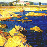 Helen Nelson-Reed - nelson pacific grove shoreline c1915