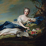 Jean Marc Nattier - Portrait of Henriette de France