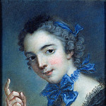 Jean Marc Nattier - Portrait of a young girl