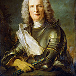 Jean Marc Nattier - Portrait of a Marechal de France, probably Chretien-Louis de Montmorency-Luxembourg (1675-1746)