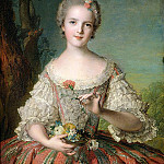 Jean Marc Nattier - Portrait of Madame Louise de France (1737-87) at Fontevrault