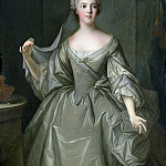 Jean Marc Nattier - Madame Sophie de France (1734-1782), as a Vestal Virgin