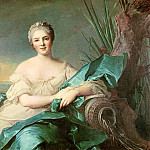 Jean Marc Nattier - Victoire de France as the element of Water