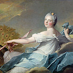 Jean Marc Nattier - Adelaide de France, as the element of Air
