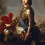 Jean Marc Nattier - Portrait of Peter I or Peter the Great