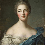 Jean Marc Nattier - Portrait of a lady