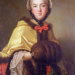 Jean Marc Nattier - Portrait of Louis-Henriette de Bourbon-Conti, with muffler