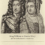 Sir Godfrey Kneller - King William and Queen Mary