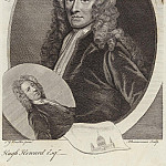 Sir Godfrey Kneller - Sir Christopher Wren and Hugh Howard