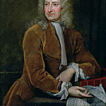 Portrait of Edmond Halley (1656-1742), H Tom Hall