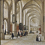 Interior of a Gothic Church [Attributed]