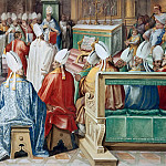 Pinturicchio (Bernardino di Betto) - Second Council of Constantinople