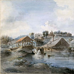 Pehr Nordquist - View from the Bernshammar Sawmill