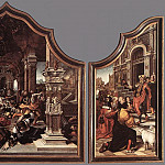 Bernaert Van Orley - Triptych Of Virtue Of Patience 1521