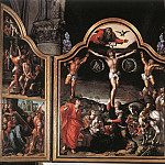 Bernaert Van Orley - Altarpiece Of Calvary Opened