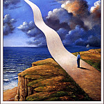 Rafal Olbinski - Pursuit Of Happiness
