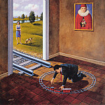 Rafal Olbinski - Hierarchy of appearances