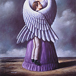 Rafal Olbinski - the turn of the screw