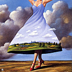 Rafal Olbinski - March (Ma Sp9)