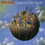 Rafal Olbinski - New York-Capital of the World