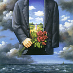 Rafal Olbinski - Artists Exhibition of Paintings 1
