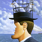 Rafal Olbinski - am-Rafal_Olbinski_Artists_Exhibition_of_Paintings_2