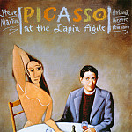 Rafal Olbinski - Picasso at the Lapin Agile