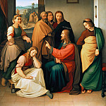 Carl Ludwig Kuhbeil - Christ in the House of Mary and Martha