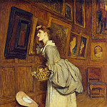 Sir William Quiller Orchardson - In the Picture Gallery