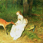 Sir William Quiller Orchardson - The Forest Pet