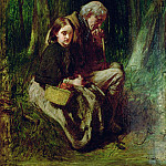 Sir William Quiller Orchardson - Little Nell and Her Grandfather in the Wood