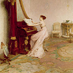 Sir William Quiller Orchardson - Music when soft voices vibrates in the memory Shelley