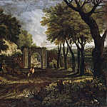 Landscape with a Ruin [Manner of]