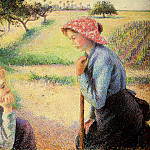 Camille Pissarro - The talk