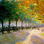 Camille Pissarro - Hyde Park, London. (1890)