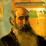 Camille Pissarro - Self Portrait. (1873)