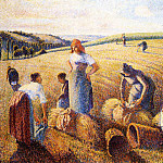Camille Pissarro - The Gleaners. (1889)