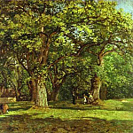 Camille Pissarro - The Forest.. (1870)