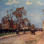 Camille Pissarro - The Avenue, Sydenham. (1871)