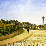 Camille Pissarro - Upper Norwood, Chrystal Palace, London. (1870)
