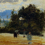 Camille Pissarro - The Clearing. (1876)