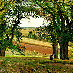 Camille Pissarro - Chestnut Trees at Osny. (1873)